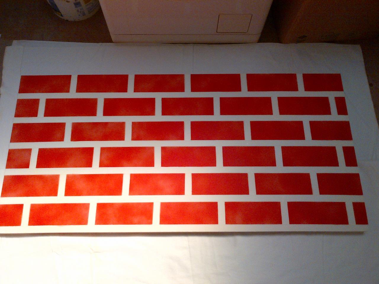 Peindre Un Mur De Brique décoration peinture
